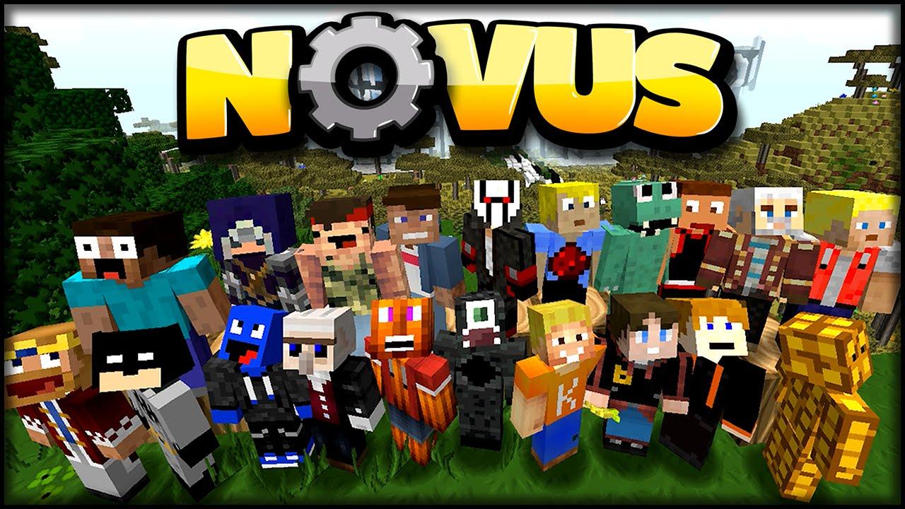 Minecraft Novus Modpack Jetzt Mit Nur Einem Klick Installieren - Minecraft bevo server erstellen